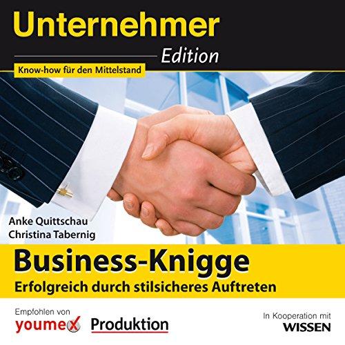 Business-Knigge - Erfolgreich durch stilsicheres Auftreten Titelbild