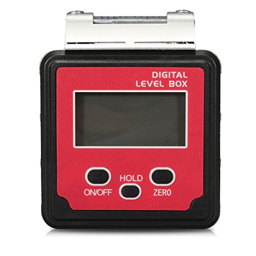 Tutoy Digital Angle Finder Gauge Bevel Box hoekmeter inklinometer waterpas