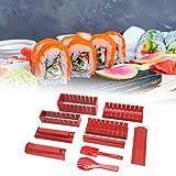 Stampo per sushi, Sushi Maker, Kit per la preparazione di sushi fai da te Macchina per sushi giapponese Utensili da cucina Forniture per sushi per la cucina di casa