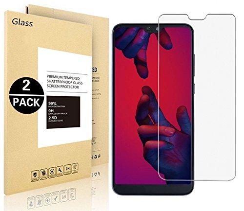 Pellicole Protettiva Huawei P20 Lite, Vigeer [2 Pack] [0,3mm, 2,5D] [Durezza 9H] [HD Clear] Protezione Dello Schermo in Vetro Temprato...