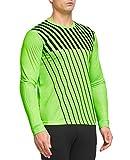 FitsT4 Adult Youth Soccer Goalkeeper Jersey Long Sleeve Padded Goalie Shirt
