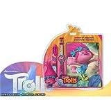 TROLLS Set Reloj Bolígrafo y Diario (Kids TR17068)