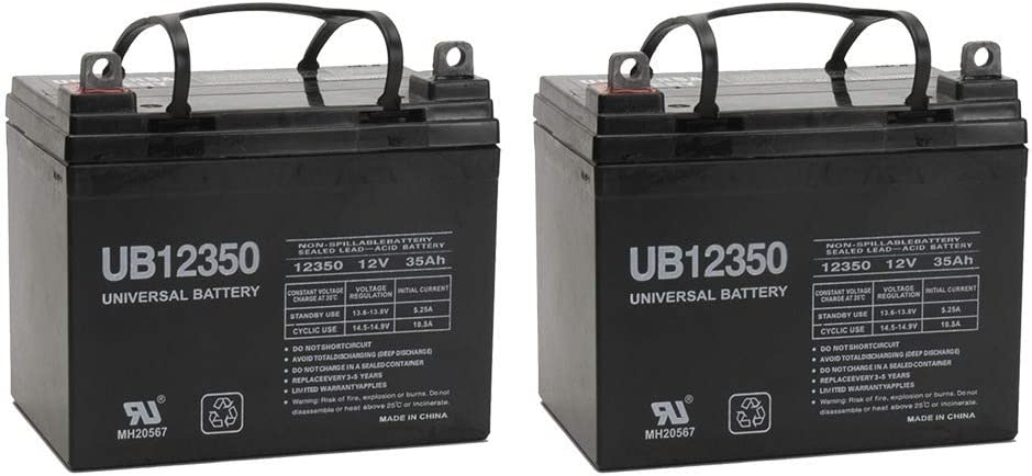 New 12V Direct store 35AH SLA Battery for Invacare Pac Pronto 2 M6 + M71 Direct stock discount M50