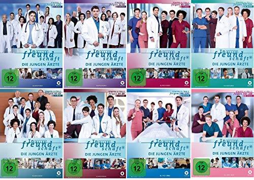 In aller Freundschaft - Die jungen Ärzte - Staffel 1.1 - 4.2 (Folgen 1-168) im Set - Deutsche Originalware [56 DVDs]