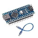 MELIFE Mini Nano V3.0 ATmega328P Microcontroller Board w Mini USB Cable for Arduino CH340 USB Driver 16Mhz Nano v3.0 ATMEGA328