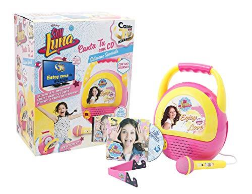 Giochi Preziosi Soy Luna Karaoke Portatile Canta Tu Console Edizione Speciale con CD