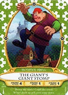 Sorcerers Mask of the Magic Kingdom Game, Walt Disney World - Card #19 - The Giant's Giant Stomp