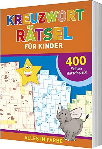Kreuzworträtsel für Kinder: 400 Seiten Rätselspaß - Alles in Farbe