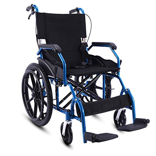 Check Out This BTIR Manual Wheelchair, with Desk Length Arms and Footrests with Heel Loops, 18 Seat...