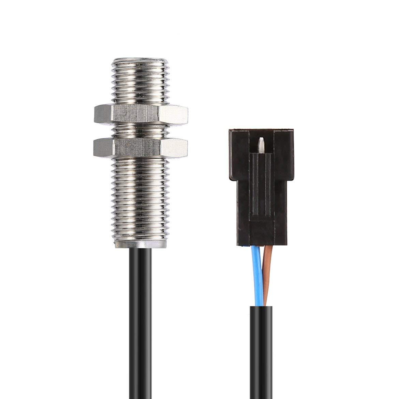 JohnJohnsen Cable del Sensor del cuentakilómetros Digital ATV + 2 ...