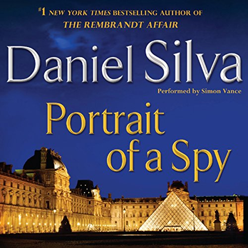 Portrait of a Spy audiobook cover art