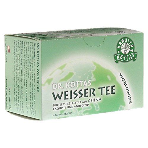 DR.KOTTAS weißer Tee Filterbeutel 20 St Filterbeutel