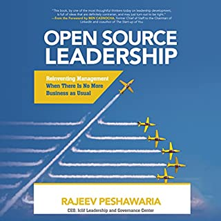 Open Source Leadership audiobook cover art