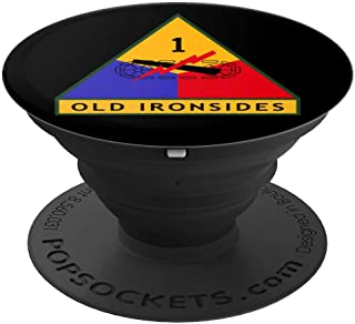 1st Armored Division (AD) Patch  PopSockets Grip and Stand for Phones and Tablets