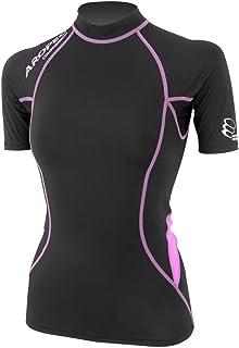 Aropec 女式压缩短袖上衣 铁人三项运动 骑行服 XXS - XL