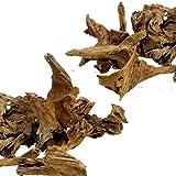 Dr. Moss Acuario pequeño Malasia Driftwood Lujoso Set para decoración de peceras, Madera Real Bogwood