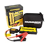 Hummer H1 Mini Jumpstarter/Charger 15.000 mAh + luz LED, Amarillo, Negro