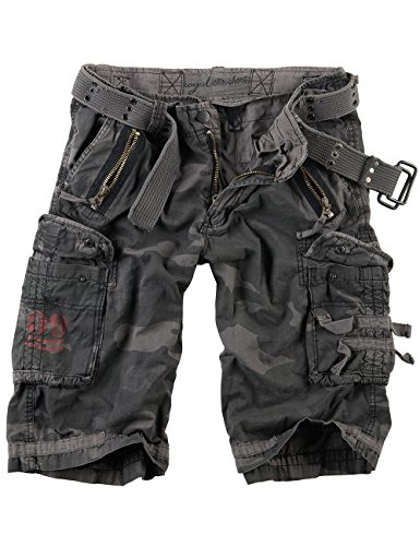 Surplus Raw Vintage Royal Shorts, Royalcamo, 3XL