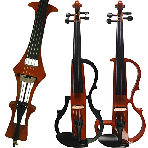 Leeche Handmade Professional Solid Wood Electric Cello 4/4 Full Size Silent Electric Cello-1804