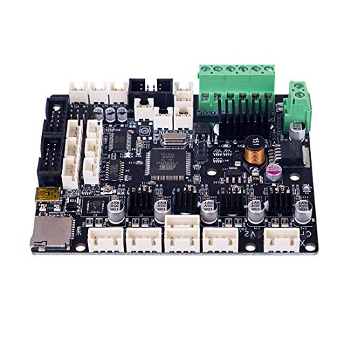 Creality CR-10S Silent Motherboard V2.2 with TMC2208 Preconfigured Firmware (No Need to Flash The Firmware)