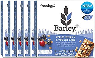 Barley+ Multi Fiber Muesli Bars (Wild Berry & Yogurt) - BULK CASE 36 X 1.2oz Bars