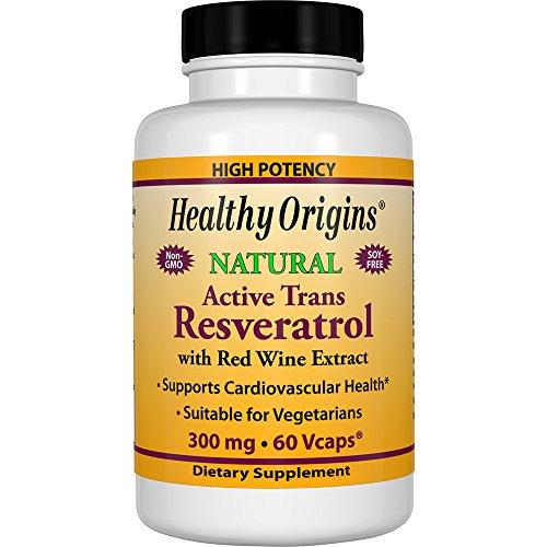 Resveratrol 300 mg TransResveratrol 60 Vcaps