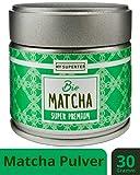 Bio Matcha Pulver - Super Premium I Spitzen Bio Matcha Tee aus Japan I 30 Gramm Premium Matcha Bio by
