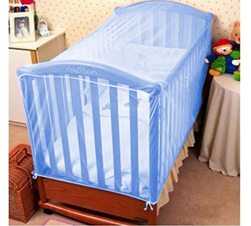 KIDDALE Baby Crib Mosquito Net -can Also be Used in Cot, Cradle with Breathable Fabric, Eco-Friendly, Mosquito Repellent(only...