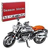 Oeasy Technic - Moto para BMW NineT, 886 piezas, modelo moderno de motocross, bloques de construcción compatibles con Lego Technic