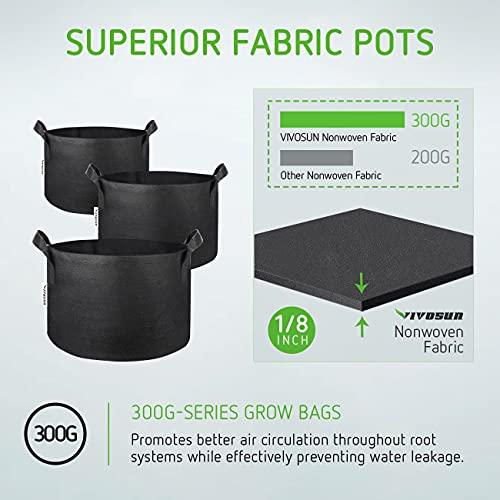 VIVOSUN Heavy Duty Grow Bags