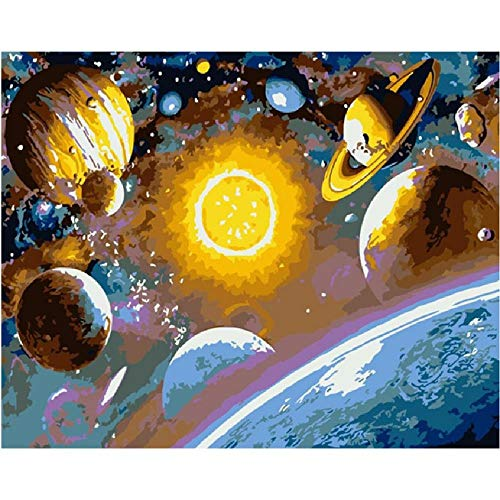 unknow Adult Jigsaw Puzzle 1000 Piece Wooden Puzzle for Teenagers and Adults, Explore The Space Mysterious Solar System Scenery, Very Good Educational Game