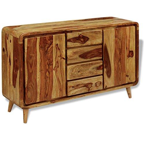 XingliEU dressoir van Sheesham-hout, 140 x 40 x 87 cm. Dit product is zeer robuust en duurzaam, uniek en elegant design.