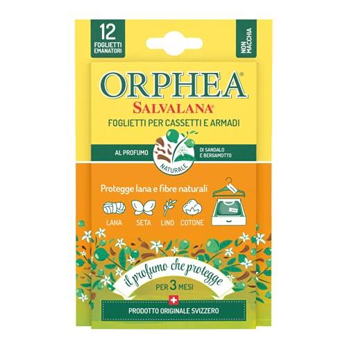 ORPHEA–Salvalana Sticky Anti TARME al Perfume de clavos de clavel del Madagascar, Paquete de 12