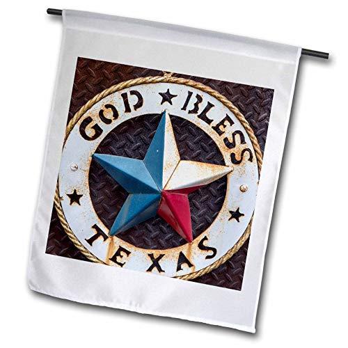 3drose FL 190191 5,1 cm Lone Star of Texas Emblem, Austin, Texas, USA