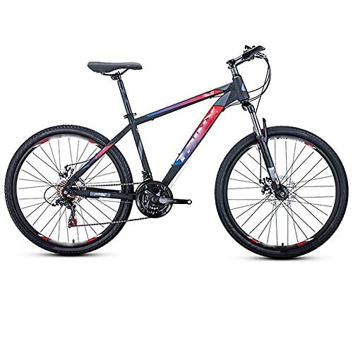 BMDHA MTB,Bicicleta De montaha 21 Velocidades 26 Pulgadas, Bicicleta Antideslizante 7 Volantes De Posicionamiento Bicicleta Montana Adulto