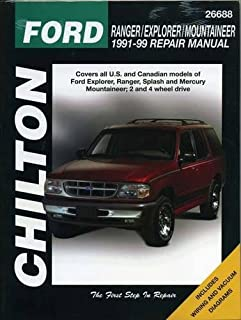 Ford Ranger, Explorer, and Mountaineer, 1991-99 (Chilton Total Car Care Series Manuals)