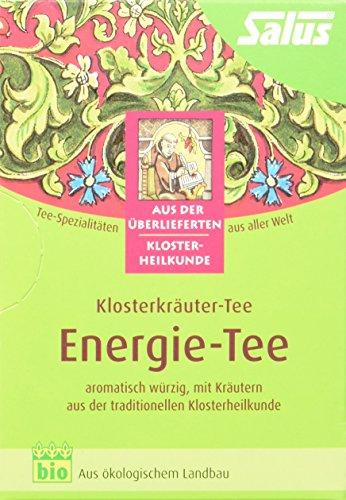 Salus Energie-Tee Klosterkräuter-Tee, 3er Pack (3 x 30 g) - Bio