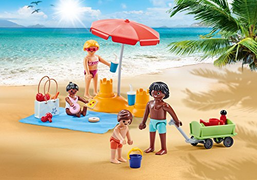 PLAYMOBIL 9819 Familie am Strand (Folienverpackung)