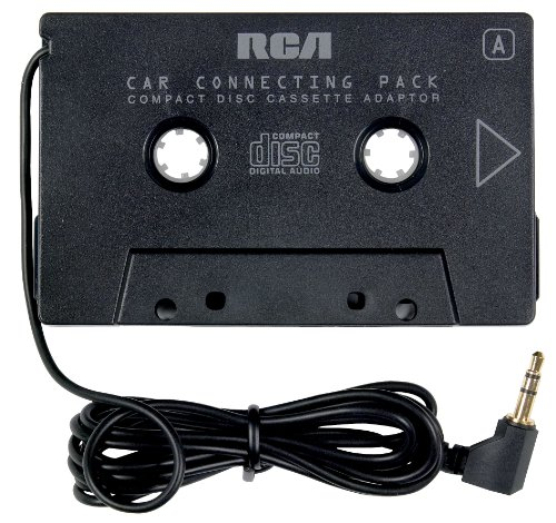 3. RCA Car Cassette Adapter