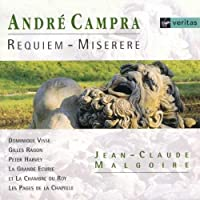 Campra - Requiem ~ Miserere / Visse, Ragon, Harvey; Malgoire