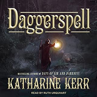 Daggerspell audiobook cover art