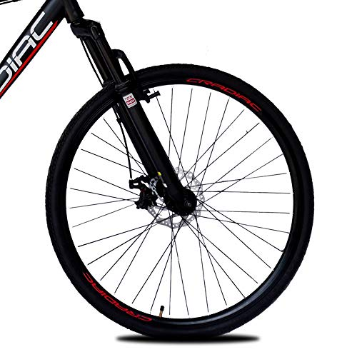 700C Hybrid Bicycle 21 Gear Shimano - CRADIAC- RED