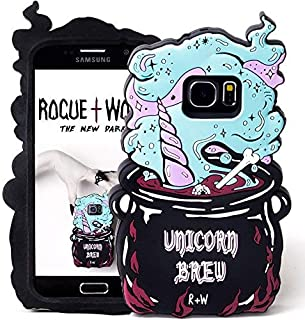 Cute Unicorn Brew iPhone 6+ 6s+ 7+ 8+ Plus Case for Girls Kawaii Silicone Phone Cases Protective iphone7 Plus iPhone8 Plus Cover