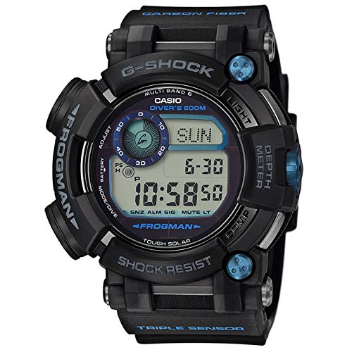Men's Casio G-Shock Master of G FROGMAN Watch GWFD1000B-1