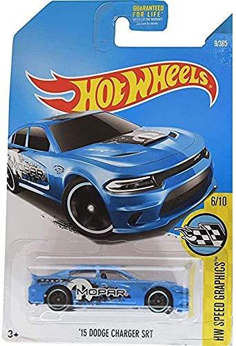 Hot-Wheels 15 Dodge Charger SRT HW Speed Graphics 6/10