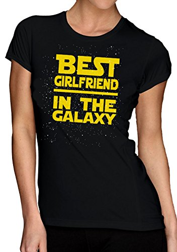 Best Girlfriend In The Galaxy T-Shirt - Star Wars...