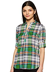 Styleville.in Womens Button Down Shirt with Full Sleeves and Pocket