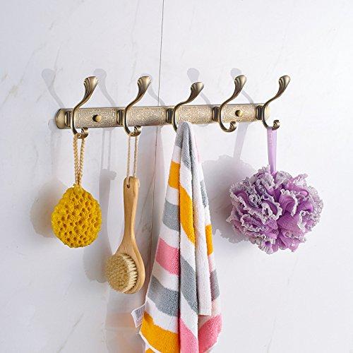 XBR antiquité hook hook hook poisson alliage de zinc antique ligne crochet bronze ware crochet,l'or rose 8 crochet