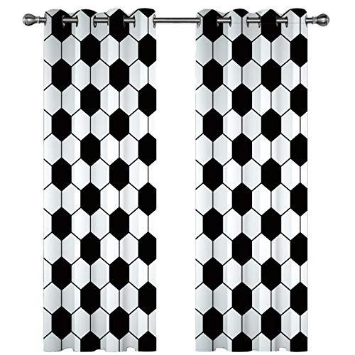KLily Cortinas Opacas Engrosadas De Impresión Digital 3D Método De Instalación De Varilla Penetrante De Agujero Redondo Decoración De Pared De Estilo Europeo Cortina Personalizada