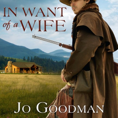 In Want of a Wife audiobook cover art